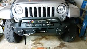 jeep grill art quadratec q9500is stealth winch with dyneema synthetic