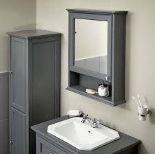 Grey Bathroom Wall Cabinet Savoy Charcoal Grey Cabinet Bathstore