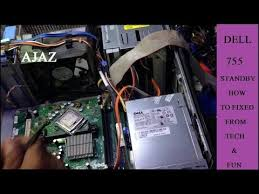 dell motherboard orange light how to fixed dell 755 amber light youtube