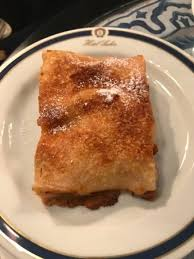 apple strudel but needed ice cream or whipped cream picture of