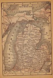 map of michigan best 25 state of michigan map ideas on map of