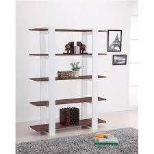 32 Inch Wide Bookcase Langria 4 Tier Classic Wire Storage Rack Shelving Heavy Duty Home