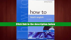 download how to teach english with dvd jeremy harmer pre order