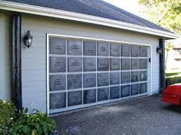 garage door decor