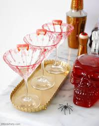 martini party ideas creepy n u0027 chic halloween cocktail party ideas chic halloween