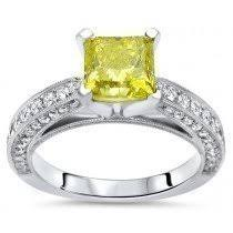 canary engagement rings buy canary yellow engagement rings shop now and save