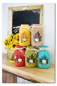 20 fantastic ideas for diy fall jar craft fall jars bee crafts and jar crafts