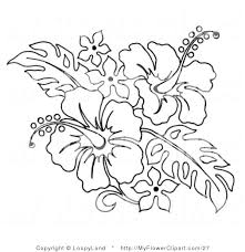 coloring pictures of hibiscus flowers hibiscus coloring pages color pages of flowers hibiscus coloring