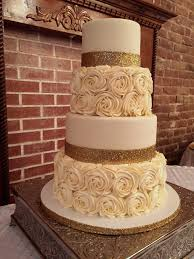wedding cake buttercream rosette wedding cake made with cake couture fondant and