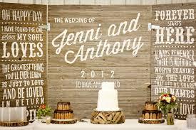 wedding backdrop board fresh dessert table inspiration southbound