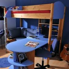 Loft Bed With Futon And Desk Bunk Bed With Futon Amazing Of Futon Bunk Bed Wood Bunk Beds