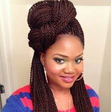 best braiding hair for twists 29 senegalese twist hairstyles for black women braided top knots