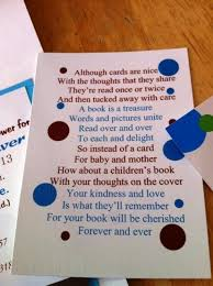 baby shower book instead of card poem the 25 best raffle poem ideas on raffle