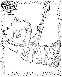 coloring pages diego rivera diego coloring page go go dora and diego coloring pages printable