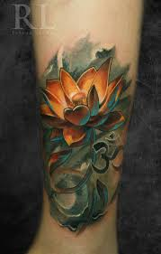 25 best 3d flower tattoos ideas on pinterest pink flower