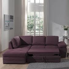 canapé d angle couleur prune ikar canapé d angle gauche convertible en tissu prune déco