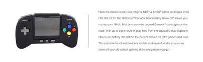 home designer pro portable amazon com retro bit rdp portable handheld console v2 0 core