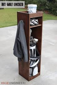diy golf locker free u0026 easy plans rogue engineer