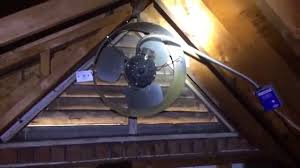 installing a gable vent fan incorrect gable fan installation what not to do youtube
