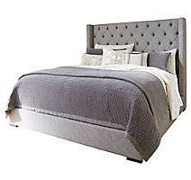Upholstered Queen Bed Frame by Beds U0026 Bed Frames Ashley Furniture Homestore