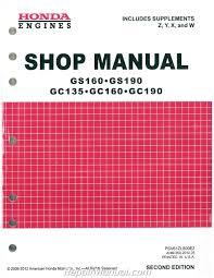 honda small engine manuals repair manuals online