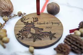 personalized engraved ornaments rainforest islands ferry