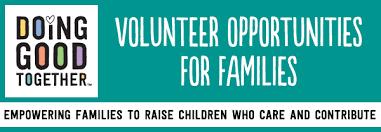 november 2017 family volunteer opportunities doing together