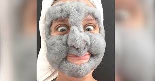 Face Mask Meme - this girl s foaming face mask is outrageous and we want it
