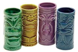 bicchieri in ceramica bicchieri tiki dottorgadget