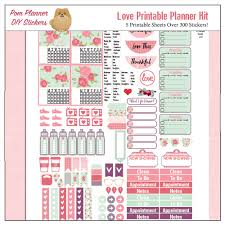 printable stickers valentines love kit and free printable planner stickers bible journal love