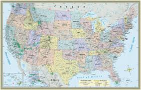 detailed map of the us united states numbered highway system map usa travel at