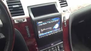 cadillac escalade radio cadillac escalade 2011 with alpine radio part 2