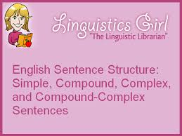 sentence structure simple compound complex and