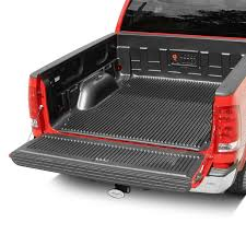 Ford F150 Truck Bed Mat - rugged liner ford f 150 2015 2017 under rail truck bed liner