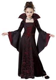 Halloween Costumes 1 Girls Child Royal Vampire Costume