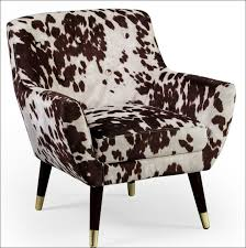 Leopard Print Accent Chair Furniture Magnificent Faux Cowhide Chairs Animal Print Chairs