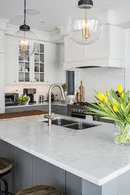 kitchen island with cutting board wood and marble kitchen island countertop transitional kitchen