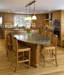 Kitchen Island With Attached Table Table Style Kitchen Island Kitchen Island With Attached Table