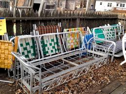 Patio Furniture Kansas City by Design Watch Vintage Aluminum Folding Lawn Chairs At Home In