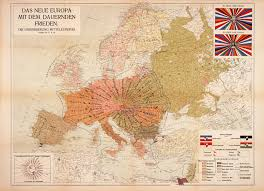 Map Of Central Europe The New Europe With Lasting Peace The Unification Of Central