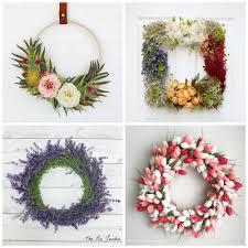 Spring Wreath Ideas 20 Beautiful Spring Wreath Ideas A Pretty Fix