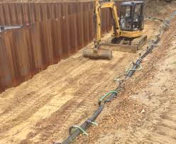 Basement Dewatering System by Dewatering J U0026 A Groundworks