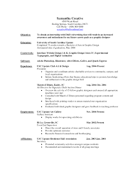 Example Resume Pdf by Resume Example Graphic Design Careerperfectcom Graphic Design