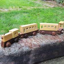 wooden toy train the no paint special 20 00 via etsy toys