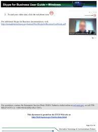 nasa enterprise service desk skype for business user guide pdf