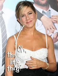 aniston wedding ring aniston still isn t used to humongous engagement ring