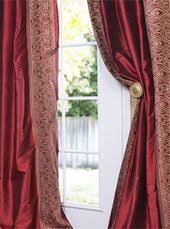 Thai Silk Drapes Ruched Sage Green Thai Silk Curtain Get Up To 40 Off At Half