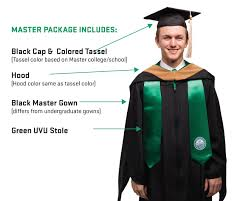 master s cap and gown graduation regalia graduation graduation utah valley