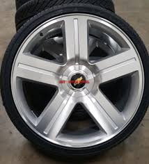 Used 24 Rims 26 Wheels And Tires Texas Edition Style Rims 5 Lug Chevy Trucks