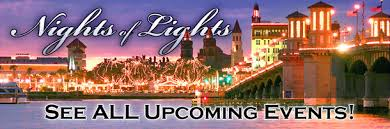 How To Hang Christmas Lights In Room St Augustine Nights Of Lights 2017 2018 Events